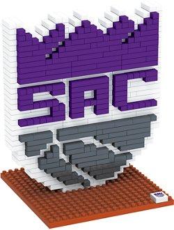 Forever Collectibles Sacramento Kings BRXLZ 3-D Logo Puzzle