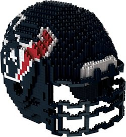 Forever Collectibles Houston Texans BRXLZ 3-D Mini Helmet Puzzle