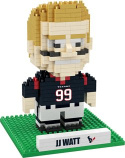 Forever Collectibles Houston Texans J.J. Watt BRXLZ 3-D Player Puzzle