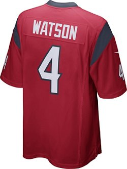 Nike Men's Houston Texans Deshaun Watson 4 Game Jersey