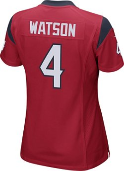 Nike Women's Houston Texans Deshaun Watson 4 Game Jersey