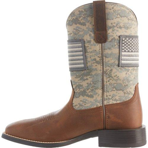 Ariat Men's Sport Patriot Western Camo Boots