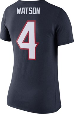 Women's Houston Texans Deshaun Watson 4 Player Pride T-shirt