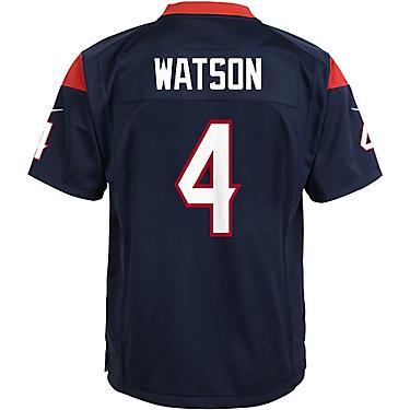 separation shoes 02b28 9c3eb Nike Boys' Houston Texans Deshaun Watson 4 Replica Game Jersey