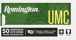 Remington UMC 9mm Luger 115-Grain Centerfire Handgun Ammunition