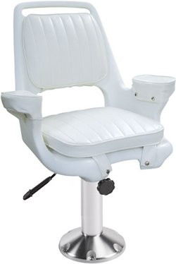 Captains Chair and Pedestal Set