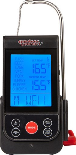 Outdoor Gourmet Wireless Thermometer with Probe