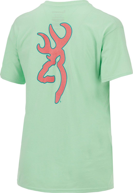 Browning Women's Glitter Buckmark T-shirt - view number 2