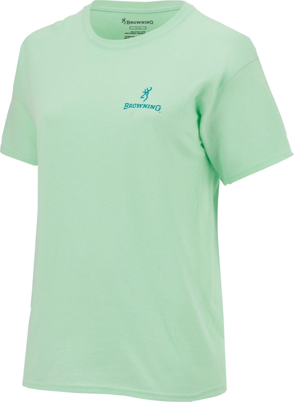 Browning Women's Glitter Buckmark T-shirt - view number 1