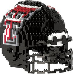 Texas Tech University 3-D BRXLZ Helmet Puzzle