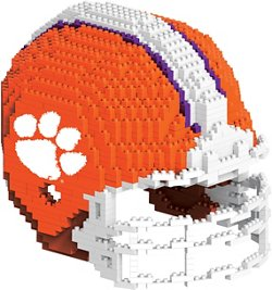 Forever Collectibles Clemson University BRXLZ 3-D Mini Helmet Puzzle