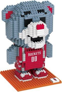 Forever Collectibles Houston Rockets BRXLZ 3-D Mascot Puzzle