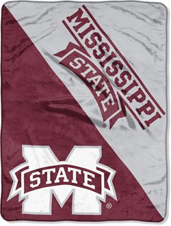 The Northwest Company Mississippi State University Halftone Micro Raschel Throw