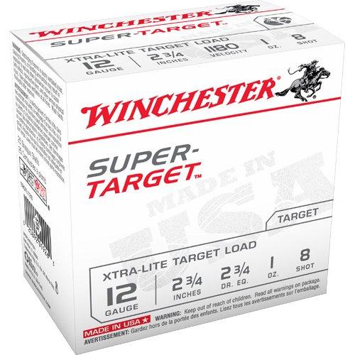 Winchester Super-Target 12 Gauge 8 Shotshells