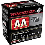 Winchester AA Light Target Load 12 Gauge 9 Shotshells