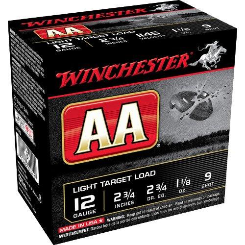 Winchester AA Light Target Load 12 Gauge 9 Shotshells