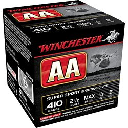 AA 410 Gauge 2-1/2 in Super Sport Target Loads