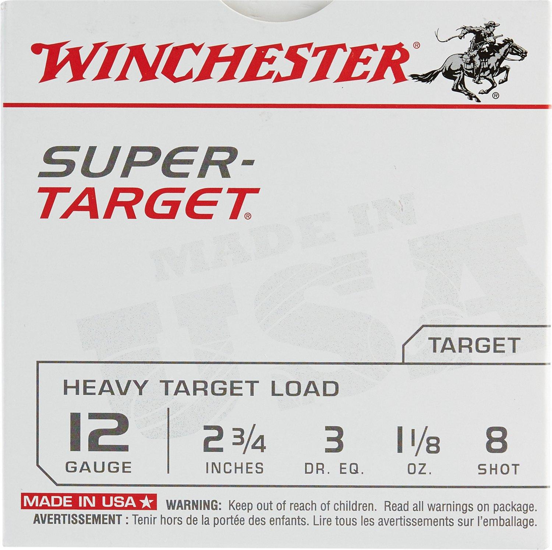 Winchester Target Load 12 Gauge 8 Shotshells