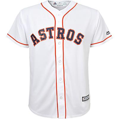 new style dfbb2 484d3 Majestic Boys' Astros Home Replica Baseball Jersey