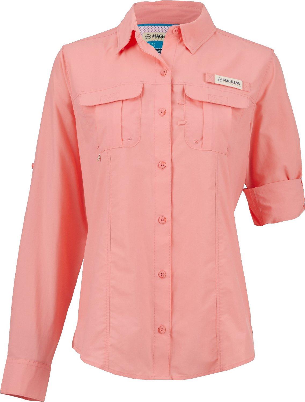 Magellan Outdoors Women's Laguna Madre Long Sleeve Shirt
