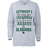 Three Square Women's University of Alabama at Birmingham Touchdowns and Tailgates T-shirt