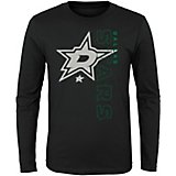 adidas Boys' Dallas Stars Covert Long Sleeve T-shirt