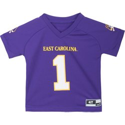 Toddler's East Carolina University Football Jersey Performance T-shirt