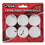 Stiga 1-Star Table Tennis Balls 6-Pack