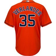 Majestic Men's Houston Astros Justin Verlander 35 COOL BASE Official Replica Jersey