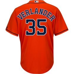 Men's Houston Astros Justin Verlander 35 COOL BASE Official Replica Jersey
