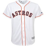 Majestic Boys' Houston Astros Replica Home Jersey