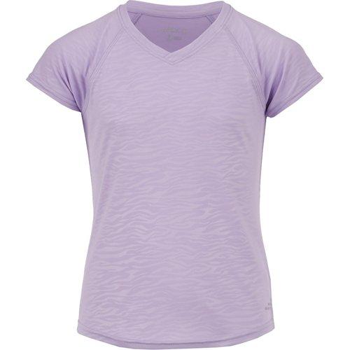BCG Girls' Embossed Turbo Training T-shirt