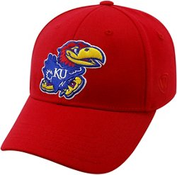 Top of the World Adults' University of Kansas Premium Collection M-F1T™ Cap