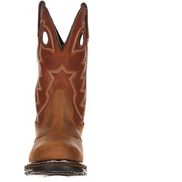 f61684f440b Rocky Men's Original Ride Branson Saddle Roper Western Boots