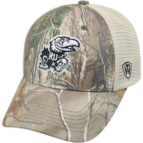 Top of the World Men's University of Kansas Prey 2-Tone Camo Cap