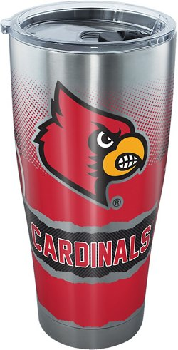 Tervis University of Louisville 30 oz Knockout Stainless Steel Tumbler