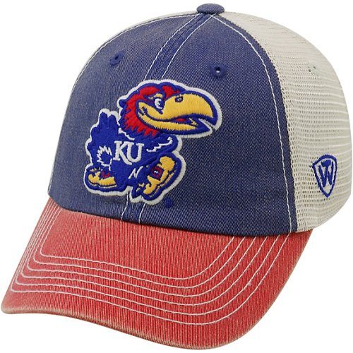 Top of the World Men's University of Kansas Offroad 3-Tone Cap