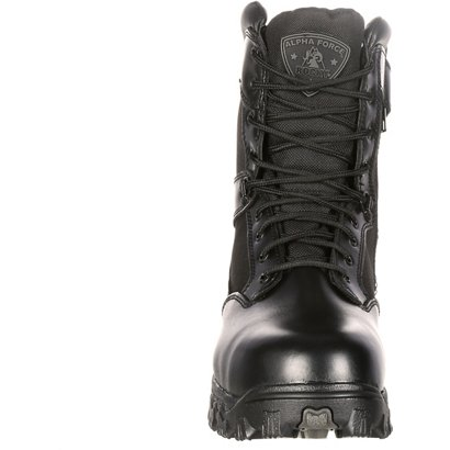 527b2082273 Rocky Men's AlphaForce Zipper Waterproof Duty Boots