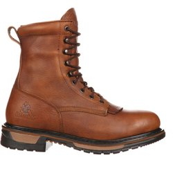 Men's Original Ride Lacer 9 in Waterproof Western Lace Up Work Boots