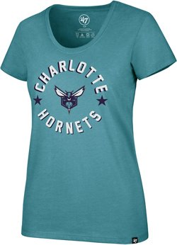 Charlotte Hornets Club Scoop Neck T-shirt