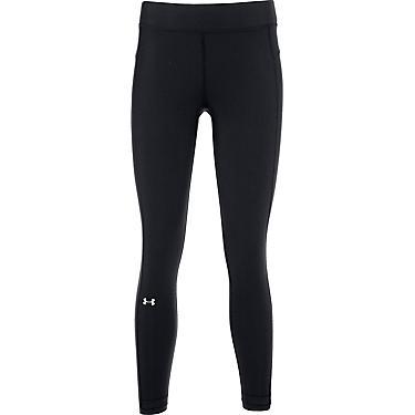 75dbaf0f16 Under Armour Women's HeatGear Armour Ankle Crop Capri Pants