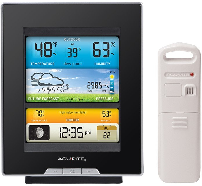 acurite digital weather station with color display academy rh academy com acurite my backyard weather forecaster