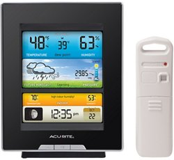 Digital Weather Station with Color Display