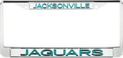 Stockdale Jacksonville Jaguars Mirrored License Plate Frame