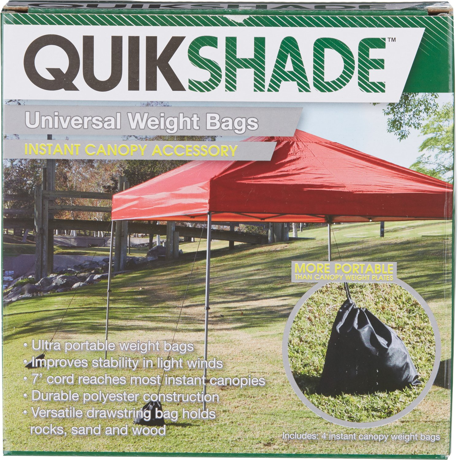 Quik Shade Canopy Weight Bags 4-Pack
