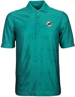 Antigua Men's Miami Dolphins Illusion Polo Shirt