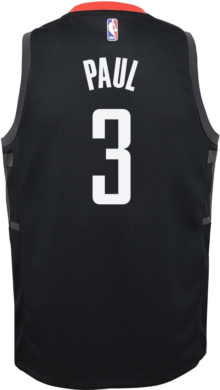 2b39bb11705 Nike Boys  Houston Rockets Chris Paul 3 Swingman Statement Jersey ...