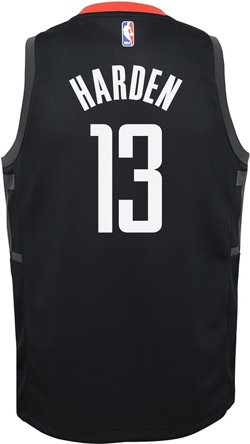 Nike Boys' Houston Rockets James Harden 13 Swingman Statement Jersey