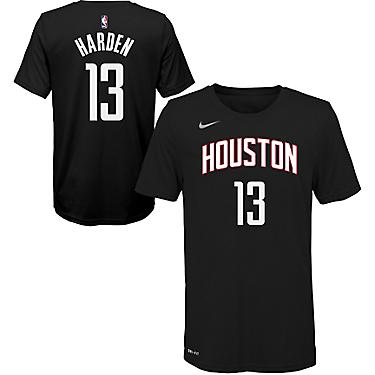 promo code 9453c aacfb Nike Boys' Houston Rockets James Harden 13 Statement T-shirt