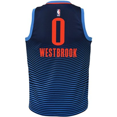 59f55462b52a ... Nike Boys  Oklahoma City Thunder Russell Westbrook Swingman Statement  Jersey. Oklahoma City Thunder Clothing. Hover Click to enlarge